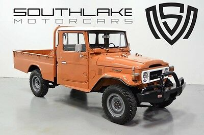 1979 Toyota Land Cruiser  79 HJ45 Long Wheelbase Pickup-Extremly Rare-Diesel Not Delivered to US-53k Miles