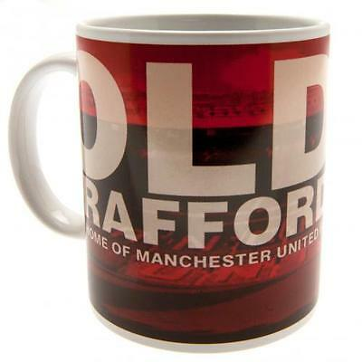 Official Licensed Football Product Manchester United Mug Old Trafford Cup Gift