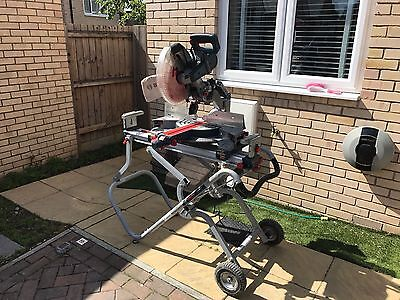 """Bosch GCM 12 GDL Professional 12"""" 305mm Double Bevel Axle-Glide Mitre Saw 240v"""