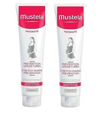 MUSTELA 9 Mois Maternite  Stretch Marks Cream 2 x 150ml (300ml!)