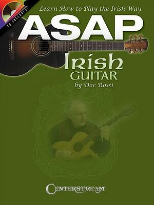 ASAP Irish Guitar - Learn How to Play the Irish Way Guitar Book and CD 000113683