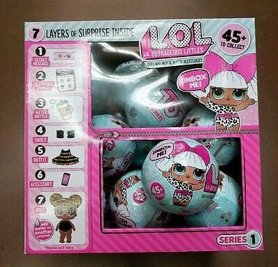 LOL Surprise Doll -  NEW SEALED - Lil Outrageous Littles Series 1