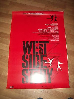 West side Story movie poster re-release one sheet rare 50th Anniversary