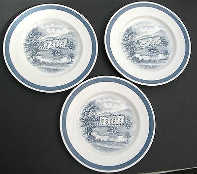 "Alfred Meakin ""stately Homes - Chatsworth"" (3) Dinner Plates 10"" Staffordshire"
