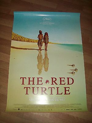 The Red Turtle movie poster one 1 sheet DS Studio Ghibli