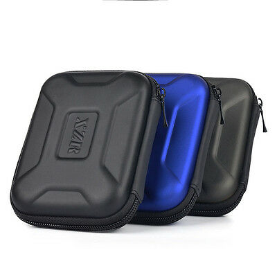Portable Anti-shock Carry Case Bag for External Hard Drive Earphones SD Cards