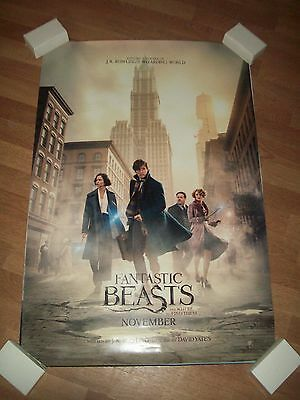 Fantastic Beasts and where to find them original movie one 1 sheet poster