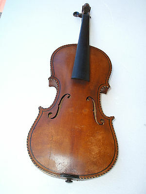 Antique Violin Fiddle Lion Head Violine Geige Mit Löwenkopf Violon Leon Violino