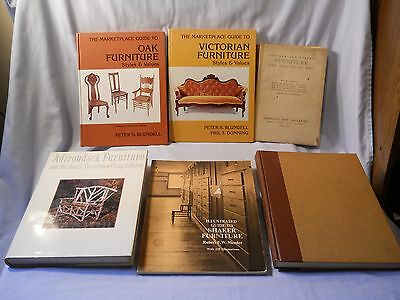 Adirondack Furniture , English Furniture , Shaker , Oak ,,lot Of 6 Books