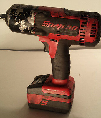 """Snap-On CT8850 1/2"""" 18V Impact Wrench w/ 2 batteries & Charger"""