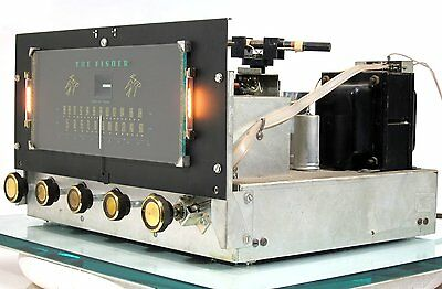 RARE Vintage THE FISHER R-30S Tube Driven AM/FM Tuner