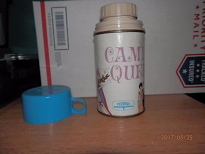 Barbie Campus Queen Lunch Box Thermos ONLY 1967