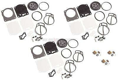 Yamaha GP1200R 2000-2002 Triple Carburetor Carb Rebuild Kit & Needle Seats