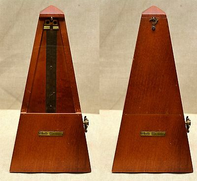 VINTAGE METRONOME de MAELZEL - Made in USA by Seth Thomas Clock Co
