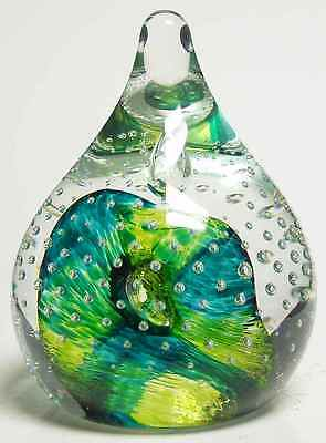 Caithness Glass CELEBRITY GREEN Paperweight 5973756
