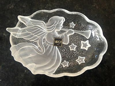 Mikasa Plate Made In Japan Angle Glass