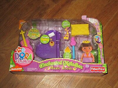 Dora The Explorer Enchanted Melodies Music Room, BRAND NEW