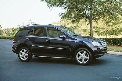 2008 Mercedes-Benz M-Class LOW 67K MILES OUTSTANDING ML350 4MATIC® LOW 67K MILES MERCEDES ML350 4MATIC FLORIDA CLEAN CARFAX NO ACCIDENT HISTORY