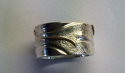 Women's Sterling Silver and Gold Rong From Metalworks Jewellers and Goldsmith