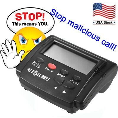 CT-CID803 Caller ID Box Calls Blocker Stop Nuisance Devices Stop All Cold Calls