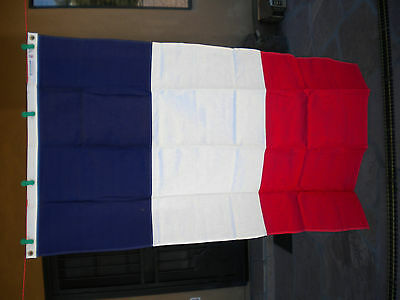 3x5 France Vintage 100% Cotton Bunting  Flag DETTRA FLAG PRODUCTS