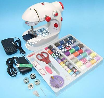 Portable Electric Led Multifunction Mini Handheld Sewing Machine Household New