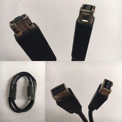 Firewire 9 pin to 9 pin Cable IEEE 1394 FireWire 800 iLink Cord (NEW)