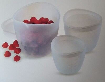 PAMPERED CHEF SILICONE Prep Bowl Set - £18.91 | PicClick UK