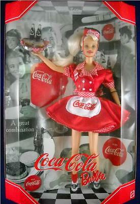 Coca-Cola ~ Car Hop Barbie ~ Collector's Doll ~ New ~ In Box