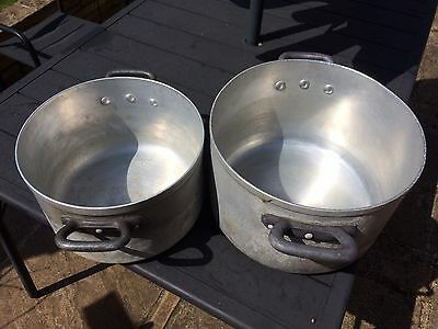 Quality, Catering, Aluminium Cooking Pot, Pan, Large, Proffesional, Chef