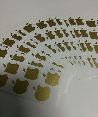 ( 12) Apple Logo Sticker Decal Vinyl for iPhone SE 5 5s 6s 6s+ 6 6+ 7 7+