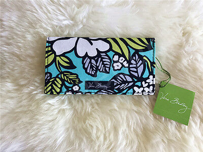 New Vera Bradley checkbook cover case in Island Blooms NWT