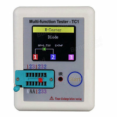1.8inch Colorful Display Multi-functional TFT Backlight Transistor Tester 4 Diod
