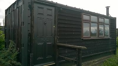 Container Portable Site / Farm Office Cabin Garden Room Log Cabin Welfare Unit