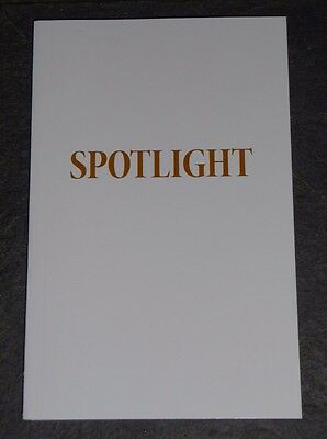 Oscar Best Original Screenplay SPOTLIGHT For Your Consideration Script Paperback