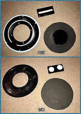 Used- Black Tron Disc Holder, Battery Pack, Authentic Disc, Prop For Cosplay.