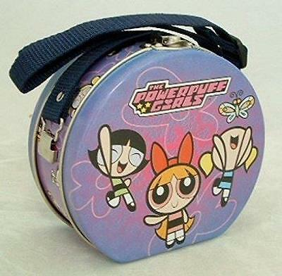 1 X The Powerpuff Girls Collectible 5-inch Tin Purse Lunchbox by Cartoon Networ