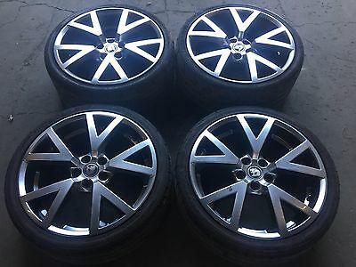Genuine VE HSV GTS 20x8 20x9.5 wheels and tyres, Holden Commodore SSV SS SV6
