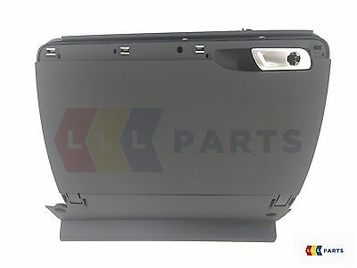 New Genuine Audi Tt 8J Glove Box Storage Compartment Black Rhd 8J2857095B 6Ps