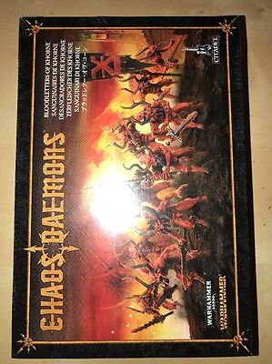 Warhammer 40,000 Bloodletters Of Khorne  New Sealed