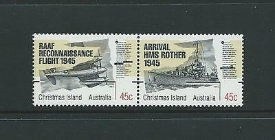 1995 CHRISTMAS ISLAND 50th Anniversary End of WWII Set MNH (SG 407a)