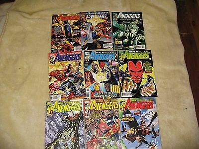9 Avengers Earths Mightiest Heroes Marvel Comics Issues 28-35+37