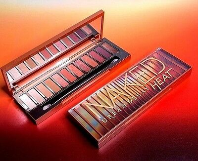 URBAN DECAY ~ NAKED HEAT ~ Eyeshadow Palette ~ LATEST UD RELEASE