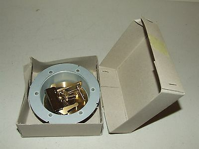 Vintage New Unused Brass Aneroid Barometer Movement Repair Part with Box NOS