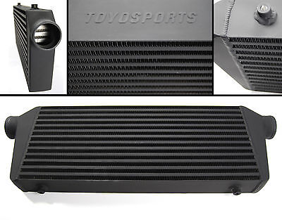 "TOYOSPORTS FRONT MOUNT TURBO INTERCOOLER  550x225x64MM 2.5"" BLACK"
