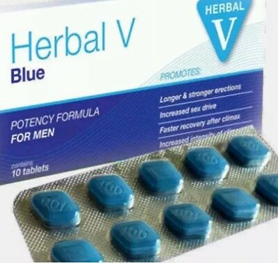 50 X 100Mg Strongest Genuine Herbal Blue Sex Aid For Men