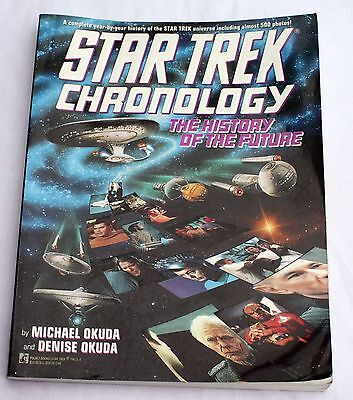 star trek chronology the history of the future pdf