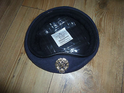 Raf Beret With Badge Various Sizes Genuine Raf Issue