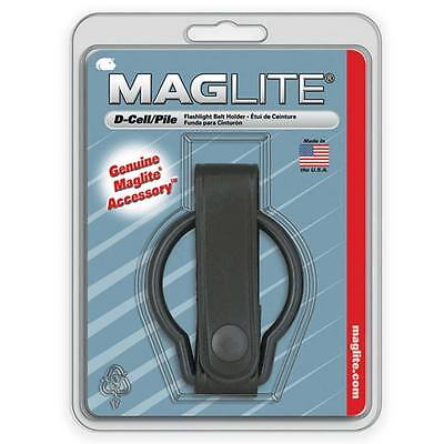 Maglite D-Cell Police Security Guard Large Flashlight Torch Belt Holder Loop NEW