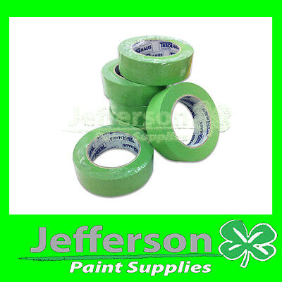 High Temperature Masking TAPE AUTOMOTIVE 6 ROLLS 36mm WRAPPING / PACKAGING TAPE